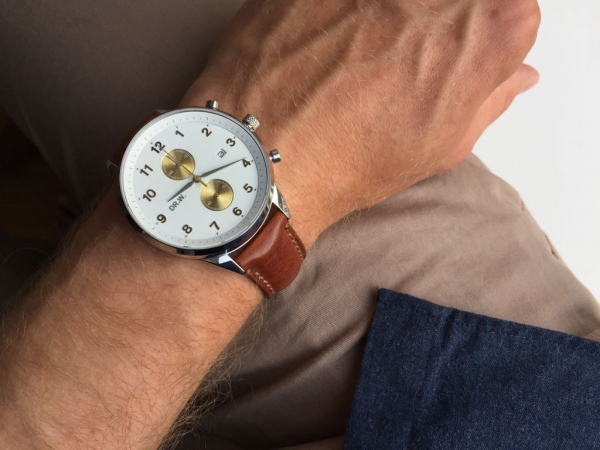 DR.W.-Pocket-Wrist-Clock-White-Strap-Faded-Brown