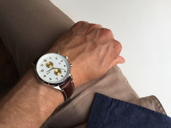DR.W.-Pocket-Wrist-Clock-White-Strap-Plain-Dark-Brown